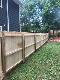 Wood Fence Morristown NJ